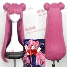 Card Captor Sakura RUBY MOON Cosplay Rose Red Wig Hair Cartoon