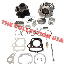 Cylinder Piston Rings Gasket Head For Honda Atc70 Crf70 Ct70 Trx70 Xr70 S65