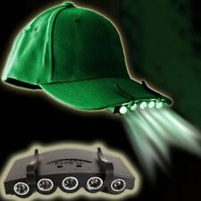 Clip on Head Hat Light Cap Lamps Fishing Camping Outdoor Lamp Cap LED Lights