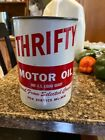 Vintage+THRIFTY+MOTOR+OIL+CAN