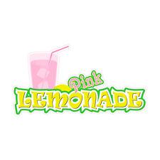Pink Lemonade Concession Restaurant Food Truck Die Cut Vinyl Sticker