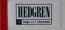 Aufkleber/Sticker: Hedgren - bags. with. charisma (220217123)