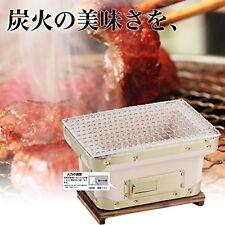 BUNDOK diatomite charcoal grill BD-384 barbecue BBQ yakitori konro BD384 F/S NEW