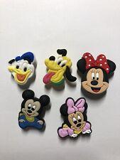 5 Schuh Pin - Shoe Charms - Anstecker für Crocs - Clogs - Pluto Mickey Mini