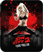 Sin City 2: A Dame to Kill For - Limited Ed Steelbook (Blu-ray 2D/3D) BRAND NEW!