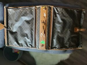 "Louis Vuitton French Company 40"" Garment Bag Monogram Canvas Vintage Luggage"