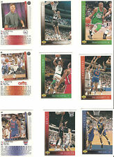 Upper Deck, DSF, Fleer; 5 Basketball Trading Cards aussuchen aus...