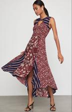 BNWT - BCBG MIXED PRINT ASYMMETRIC DRESS - SIZE M