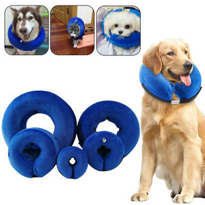 Inflatable Collar Wound Cone Protection Soft Medical Pet Dog Healing @I