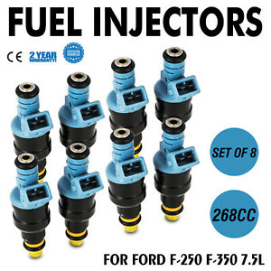 Set 268cc 4-Hole Fuel Injector for Ford 0280150947 0280150913 0280150759 Super