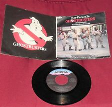 DISCO VINILE DISC FILM 80-RAY PARKER JR GHOSTBUSTERS THEME/STRUMENTAL,SONG sigle