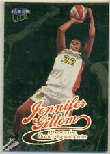 WNBA -WOMEN'S BASKETBALL CARD -1999 FLEER ULTRA GOLD MEDALLION - JENNIFER GILLOM