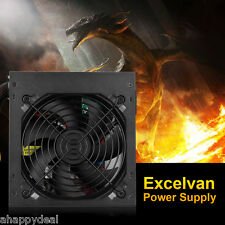 Excelvan PC Power ATX 450W Fuente Alimentación Sobremesa Intel AMD Doble 6+2PIN