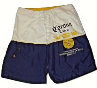 74c464277c Corona Extra Beer Mens Summer Beach Board Swim Trunks Shorts Size 32