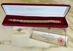 CAMROSE & KROSS JACKIE KENNEDY NON RELINQUAM CASTELLANI WEDDING BRACELET NEW