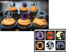 Impression Obsession HALLOWEEN CUTOUT CIRCLES Steel Die Set DIE324-X Candy Treat