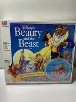 Disney's Beauty and the Beast Board Game MB Milton Bradley New Factory Sealed