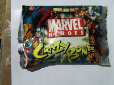 Marvel Heroes Sealed Crazy Bones Toy By Magic Box Int.