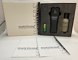 ISOMERS Nutritone Facial Beauty Device with Toning Serum System *NEW*