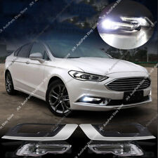 LED Driver Fog Light DRL Daytime Running lamp For Ford Fusion Mondeo 2017-2018