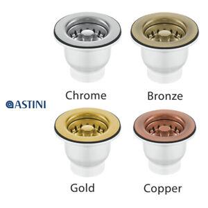 65mm Ceramic Belfast Strainer Waste for Astini, RAK, Rangemaster, Caple Sink