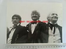 More details for doctor who the three doctors pertwee/troughton/hartnell original press photo