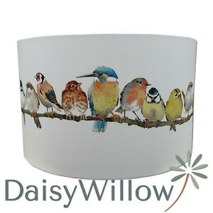 Lampshade Handmade Laura Ashley Garden Birds Fabric Several Sizes* FREE DELIVERY