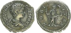 Denar 198-209 Antike / Römische Kaiserzeit/ Geta Geta als Cäsar (43969)