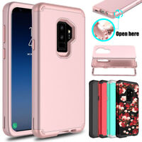 For Samsung Galaxy S9/S9 Plus/Note 9 Shockproof Hybrid Armor Rugged Case Cover