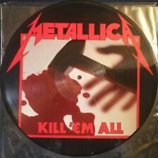 METALLICA KILL 'EM ALL ORIGINAL Picture Disc LP 1983 Megaforce MRI 069