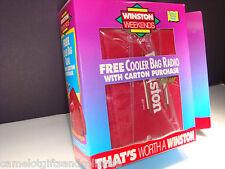 Vintage 1993 WINSTON Weekends COOLER Bag FM RADIO. MINT / NEW in BOX. NOS
