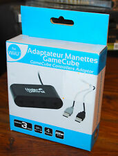 ADAPTATEUR manettes game cube pour la Nintendo Wii u (controllers adaptor) NEUF