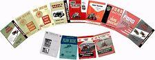 Ford NAA Tractor Manual Set CD - Models 600 800 2600  (16 Manuals)
