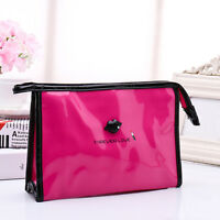 Makeup Toiletry Zip Bag Pouch Organizer Wash Travel Cosmetic Multifunction Cases