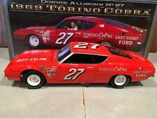 University of Racing 1969 Donnie Allison #27 East Point Ford Torino Cobra 1/24