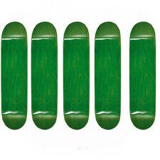 Easy People Skateboards SB-1 Semi-Pro 5 Blank Skateboard Decks Green 8.0 + Grip