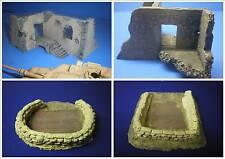 """TSD-72026 1/72 Diorama Jeu """"Moyen Orient"""" avec 1 Bâtiments et deux Postes"""