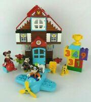 Disney Mickeys Vacation House 2 Seasons Dupo Lego Set + Extra Blocks