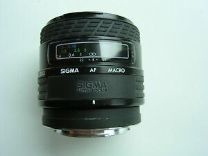SIGMA AF MACRO f= 50mm  1:2.8 Objektiv - Schwarz TOPZUSTAND!!!