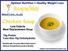 MEDLINKHEALTH CHICKEN SOUP MIX Meal Replacement Weight Loss   6 BOXES