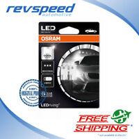 Osram LED Bulbs T10 LEDriving W5W Cool White 6000K 12V 1W 2850CW-02B