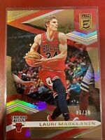 2019-20 NBA Donruss Elite Basketball Lauri Markkanen Gold 03/10 SP