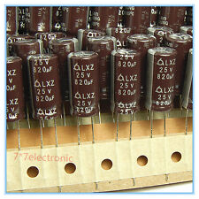 (20pcs) 820uf 25v Samyoung Electrolytic Capacitors LXZ 25v820uf Low Impedance