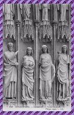 Carte Postale - STRASBOURG - la cathedrale - vierges sages