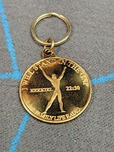 Christian Family Life Radio Metal Keychain