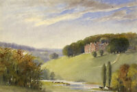 Apollonia Griffith, Latimer House, Buckinghamshire – 1837 watercolour painting