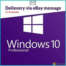 Windows 10 Pro Professionnel 32/64 Bits Authentique Activation Clé de licence 🔑
