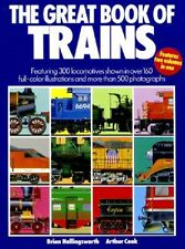 The Great Book of Trains - HC w/DJ 1st EDITION 1987