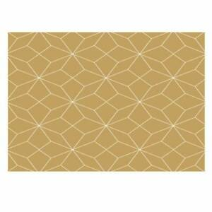 Gold Geometric Design Gift Wrapping Paper. Size A3 - GP291