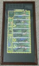1996 LPGA Shootout Columbia Edgewater country club display signed by the players